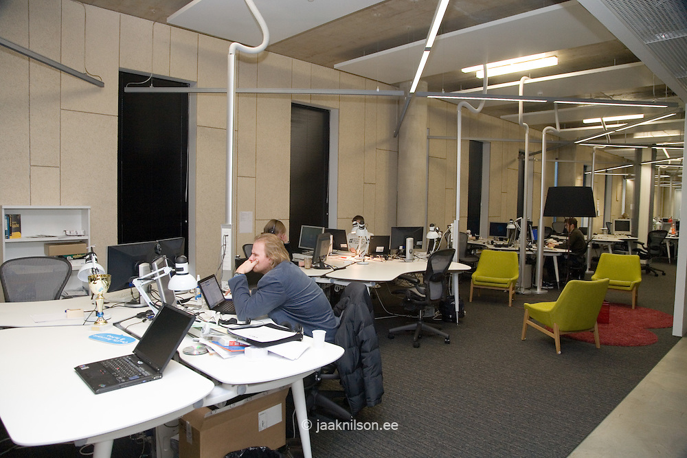 Modern Skype Office in Tallinn, Estonia