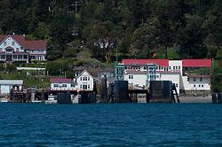 Orcas Island Ferry Landing, San Juan Islands, Washington, US, May 2012