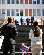 HOENSBROEK, 19-05-2020 ,Koning bezoekt revalidatiecentrum Adelante<br /> <br /> Koning Willem Alexander tijdens een werkbezoek gebracht aan revalidatiecentrum Adelante in Hoensbroek. Het bezoek vond plaats in het kader van de uitbraak van het coronavirus (COVID-19).<br /> <br /> King Willem Alexander paid a working visit to the rehabilitation center Adelante in Hoensbroek. The visit took place in the context of the coronavirus outbreak (COVID-19).