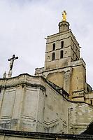 Notre Dame des Doms cathedral. Avignon, France.