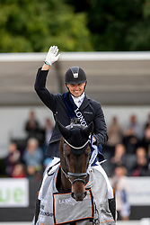 Helgstrand Andreas, DEN, Jovian<br /> World Championship Young Dressage Horses - Ermelo 2019<br /> © Hippo Foto - Dirk Caremans<br /> Helgstrand Andreas, DEN, Jovian