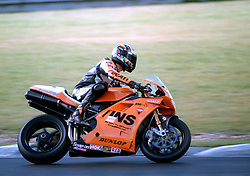NEIL HODGSON GSE RACING INS DUCATI,  British Superbike Championship Brands Hatch 26th March 2000