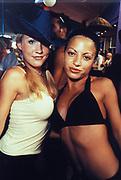 two sexy girls, Ibiza, 1999.