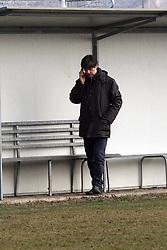ALLENAMENTO SPAL 24-01-2012: SERGIO GESSI PARLA AL TELEFONO