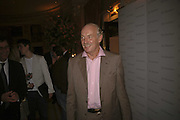 Dermot Desmond, launch of The Bar at the Dorchester. Park Lane. London. 27 June 2006. ONE TIME USE ONLY - DO NOT ARCHIVE  © Copyright Photograph by Dafydd Jones 66 Stockwell Park Rd. London SW9 0DA Tel 020 7733 0108 www.dafjones.com