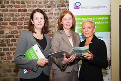 """.New Health and Social Care Public Service Launched. .Monday, 19th September 2011. .""""Tell us if mistakes have been made and don't be afraid to complain"""" was the key message from the launch of Healthcomplaints, a public service initiative to help members of the public understand where and how to complain about health and social care services, launched today (Monday) by Minister of State Roisin Shortall, TD...Pictured at the Launcher were.Ciara McGoldrick, Head of Fitness to Practise and Legal Affairs, Pharmaceutical Society of Ireland..Eimear Burke, McDowell Purcell  Solicitors..Dr. Maura Pidgeon, Chief Executive Office,.An Bord Altranais.....The Minister of State at the Department of Health with responsibility for Primary Care launched the initiative at a conference in Dublin Castle on How and Where to Complain about Heath and Social Care Services.  . .""""It is important to stress that everyone has the right to make a complaint and be confident that the complaint will be dealt with fairly, properly and promptly.  Making a complaint should be a straightforward procedure; there should be no underlying concern that a complaint will in any way impinge on the level of care provided. When a patient contacts your service to complain about a service received, it can be a blessing in disguise.  Sometimes you will see a weakness in your services that can be rectified. This will prevent possible future complaints or problems down the line. It is an effective form of patient feedback, although one you hope to minimise.  The goal should be to get few or no complaints at all, """" said Minister Shortall, speaking at the launch. . .Healthcomplaints is a toolkit which provides information and support about how and where to make complaints on services in health or social care. It consists of a guide for the public; a leaflet, a poster, a staff training guide and   the website - www.healthcomplaints.ie. . .This is the first time such an initiative as this has been launched in Ireland. . ."""