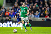 Sheffield Wednesday midfielder Kieran Lee (5) during the The FA Cup match between Brighton and Hove Albion and Sheffield Wednesday at the American Express Community Stadium, Brighton and Hove, England on 4 January 2020.