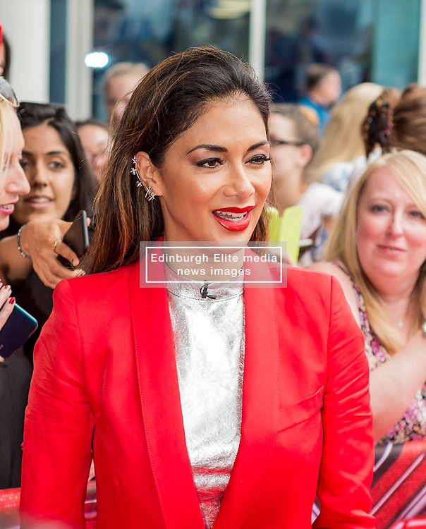 X Factor judge Nicole Scherzinger at the X Factor auditions held at the Leicester City's King Power Stadium<br /> <br /> (c) John Baguley | Edinburgh Elite media