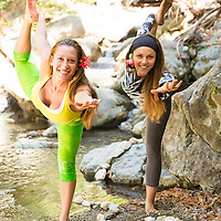 Ashley and Diane Esalen Yoginis