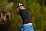 Hannah Collier during the final round of the LPGA Qualifying Tournament Stage Three at LPGA International in Daytona Beach, Florida on Dec. 6, 2015.<br /> <br /> <br /> ©2015 Scott A. Miller