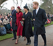 Royals Attend Christmas Church Service