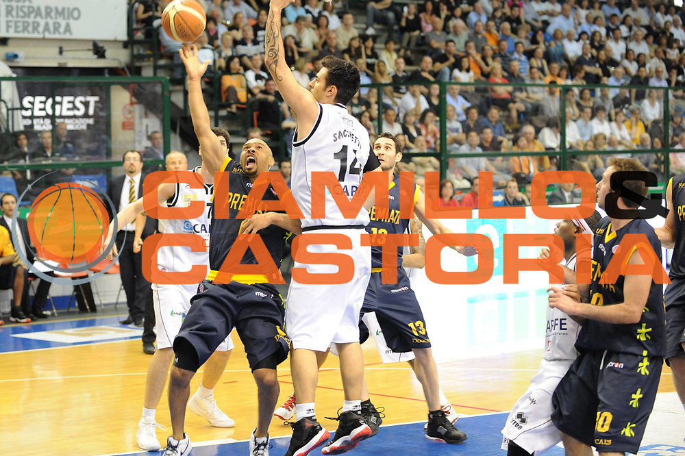 DESCRIZIONE : Ferrara Lega A 2008-09 Carife Ferrara Premiata Montegranaro<br /> GIOCATORE : Kiwane Garris<br /> SQUADRA : Premiata Montegranaro<br /> EVENTO : Campionato Lega A 2008-2009<br /> GARA : Carife Ferrara Premiata Montegranaro<br /> DATA : 10/05/2009<br /> CATEGORIA : super tiro<br /> SPORT : Pallacanestro<br /> AUTORE : Agenzia Ciamillo-Castoria/M.Marchi