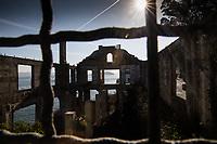 San Francisco, 20171015:  Reiser i San Francisco. Litt gatefoto, turist og Sightseeing. Bilde fra Alcatraz. FOTO:  TOM HANSEN