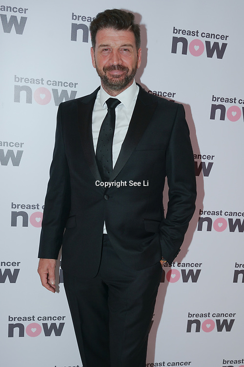 London, UK. 14th October, 2017. Nick Knowles attends London's Dorchester Hotel hosts Breast Cancer Campaign's Pink Ribbon Ball 2017.