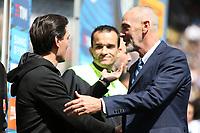 c - Milano - 15.04.2017 - Serie A 32a giornata  -  Inter-Milan   - nella foto:  Vincenzo Montella e Stefano Pioli