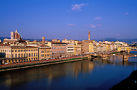 Italie, Toscane, Florence, vue generale // cityscape, Florence, Tuscany, Italy