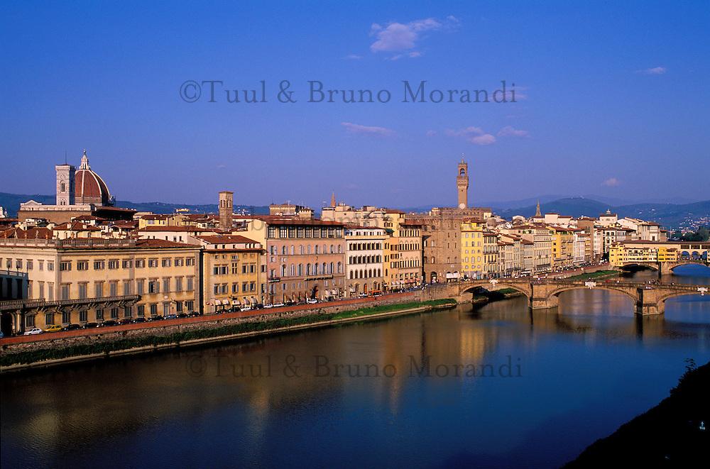 Italie, Toscane, Florence, vue generale // cityscape, Florence, Tuscany, Italy