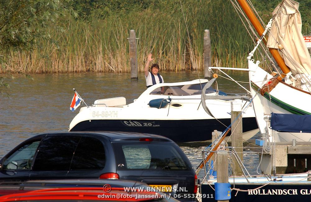 Mario Nap en zijn boot