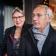 NLD/Amsterdam/20171221 - Premiere 33e Wereldkerstcircus, Karel de Rooij en partner Yvonne