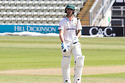 Colin Ackemann run out 94 during the Bob Willis Trophy match between Lancashire County Cricket Club and Leicestershire County Cricket Club at Blackfinch New Road, Worcester, United Kingdom on 3 August 2020.