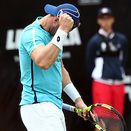 Sam Groth during the Mercedes Cup at Tennisclub Weissenhof, Stuttgart, Germany.<br /> Picture by EXPA Pictures/Focus Images Ltd 07814482222<br /> 09/06/2016<br /> *** UK &amp; IRELAND ONLY ***<br /> EXPA-EIB-160609-0041.jpg