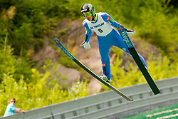 Timi Zajc from Slovenia during Ski Jumping Continental Cup Kranj 2018, on July 8, 2018 in Kranj, Slovenia. Photo by Urban Urbanc / Sportida