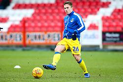 Sam Matthews of Bristol Rovers warms up - Mandatory by-line: Robbie Stephenson/JMP - 12/01/2019 - FOOTBALL - Wham Stadium - Accrington, England - Accrington Stanley v Bristol Rovers - Sky Bet League One