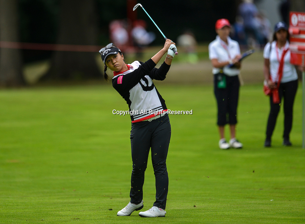 31.07.2016. Woburn Golf Course, Milton Keynes, England. Ricoh Womens Open Golf, final round. Lydia Ko (New Zealand) plays a shot from the 3rd fairway.
