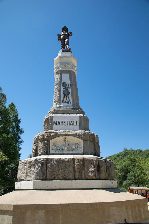 James W. Marshall Statue, Coloma, California, US