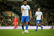 Portsmouth defender Anton Walkes (2) during the The FA Cup 3rd round match between Norwich City and Portsmouth at Carrow Road, Norwich, England on 5 January 2019.