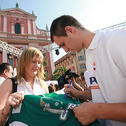 20080712: Basketball - Slovenian National Team press conference