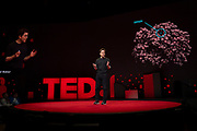 David Baker speaks at TED2019: Bigger Than Us. April 15 - 19, 2019, Vancouver, BC, Canada. Photo: Bret Hartman / TED