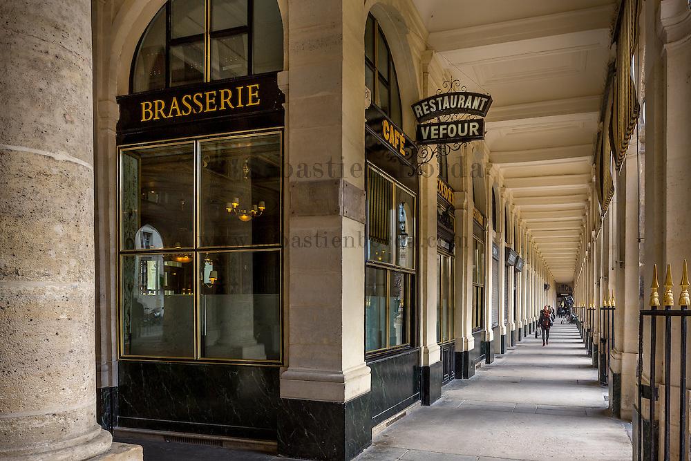 Brasserie Veffour, jardin du palais royal // Veffour Brasserie located in Palais Royal park