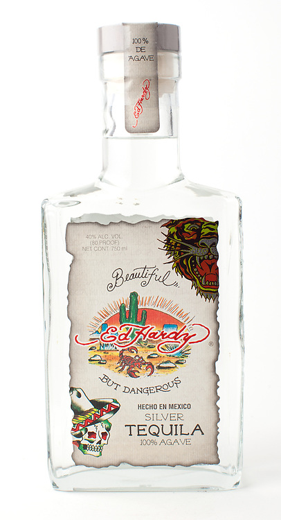 Ed Hardy Silver -- Image originally appeared in the Tequila Matchmaker: http://tequilamatchmaker.com