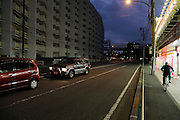 evening Yokohama city Japan