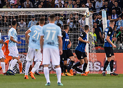May 20, 2018 - Rome, Italy - Sergej Milinkovic-Savic hits the crossbar during the Italian Serie A football match between S.S. Lazio and F.C. Inter at the Olympic Stadium in Rome, on may 20, 2018. (Credit Image: © Silvia Lore/NurPhoto via ZUMA Press)