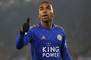 Ricardo Pereira (21) of Leicester City.  during the Premier League match between Leicester City and Watford at the King Power Stadium, Leicester, England on 4 December 2019.