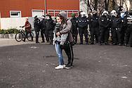 Francoforte sul Meno, contestazioni allla BCE (Blockupy). 18 marzo 2015. / Frankfurt, demos against ECB (Blockupy). 3.18.2015