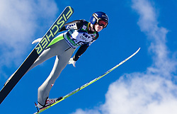 Daniela Iraschko - Stolz of Austria competes during 11th Women FIS Ski Jumping World Cup competition in Planica replacing Ljubno  on January 25, 2014 at HS95, Planica, Slovenia. Photo by Vid Ponikvar / Sportida