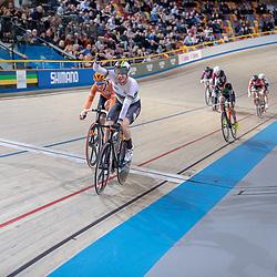30-12-2018: Wielrennen: NK Baan: Apeldoorn <br /> Wereldkampioen Kirsten Wild pakt de nationale titel op de scratch