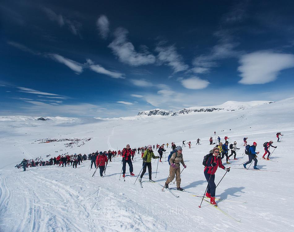 Skarverennet - One of the longest mountain cross-contry races in Scandinavia