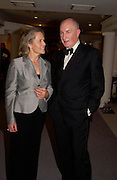 Alison Vaissiere and Sir Peter Osborne. The Grosvenor House Art and Antiques Fair charity Gala evening in aid of the NSPCC. 16 June2005. ONE TIME USE ONLY - DO NOT ARCHIVE  © Copyright Photograph by Dafydd Jones 66 Stockwell Park Rd. London SW9 0DA Tel 020 7733 0108 www.dafjones.com