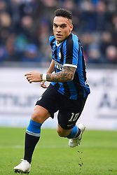26.01.2020, Stadio Giuseppe Meazza, Mailand, ITA, Serie A, Inter Mailand vs Cagliari Calcio, 21. Runde, im Bild Lautaro Martínez (F.C. Internazionale Milano) // Lautaro Martínez (F.C. Internazionale Milano); during the Seria A 21th round match between Inter Mailand and Cagliari Calcio at the Stadio Giuseppe Meazza in Mailand, Italy on 2020/01/26. EXPA Pictures © 2020, PhotoCredit: EXPA/ laPresse/ Fabio Ferrari<br /> <br /> *****ATTENTION - for AUT, SUI, CRO, SLO only*****