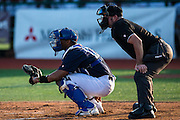 Sixth game of the France International Baseball Tournament 2014, won by the French Team 12 to 8 against The Netherlands