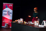 Roz Purcell. Red Line Book Festival. Civic Theatre. ©Tamara Him.
