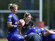 Ospreys Women v Dragons Women<br /> <br /> Photographer Mike Jones / Replay Images<br /> Centre of Excellence, Ystrad Mynach<br /> 23rd September 2018<br /> <br /> World Copyright &copy; 2018 Replay Images. All rights reserved. info@replayimages.co.uk - http://replayimages.co.uk