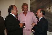 DAI LLEWELLEN, Count Leopold von Bismarck and Adam Helleiker, David Bailey, Havana. Faggionato fine art. Albermarle St. London. 20 September 2006. ONE TIME USE ONLY - DO NOT ARCHIVE  © Copyright Photograph by Dafydd Jones 66 Stockwell Park Rd. London SW9 0DA Tel 020 7733 0108 www.dafjones.com