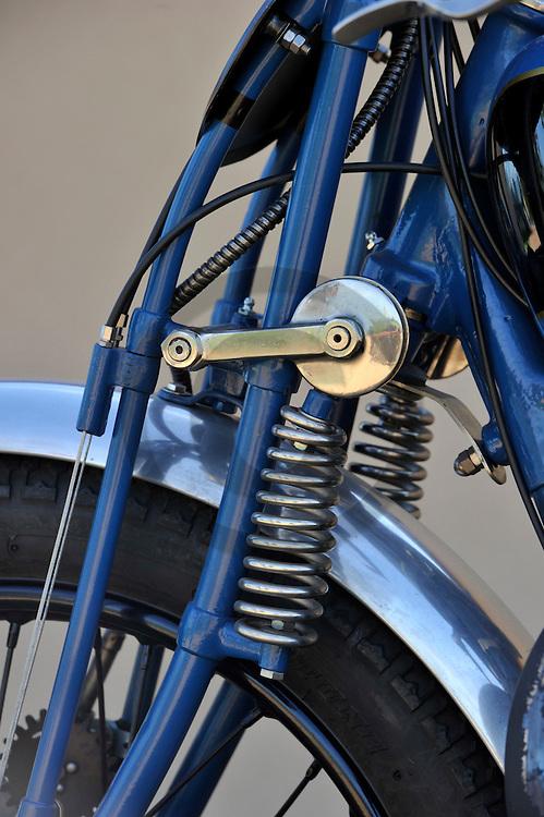 15/09/11 - COURPIERE - PUY DE DOME - FRANCE - Essais Rene GILLET HERSTAL 500 competition de 1931 - Photo Jerome CHABANNE