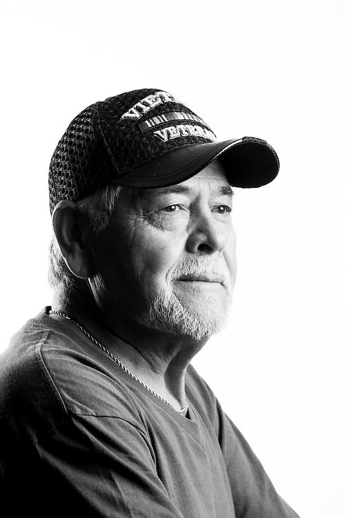 Charles S. Domingez<br /> Army<br /> E-5<br /> Infantry<br /> Feb. 1968 - Nov. 1969<br /> Vietnam<br /> <br /> Veterans Portrait Project<br /> Denver, CO