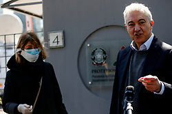 24.03.2020, Rom, ITA, Coronaviruskrise, Italien, im Bild der außerordentliche Kommissar Arcuri during a pressconference the extraordinary commissioner Arcuri. Italy is the worst affected of the coronavirus pandemic in Europe Rom, Italy on 2020/03/24. EXPA Pictures © 2020, PhotoCredit: EXPA/ laPresse/ Cecilia Fabiano<br /> <br /> *****ATTENTION - for AUT, SUI, CRO, SLO only*****